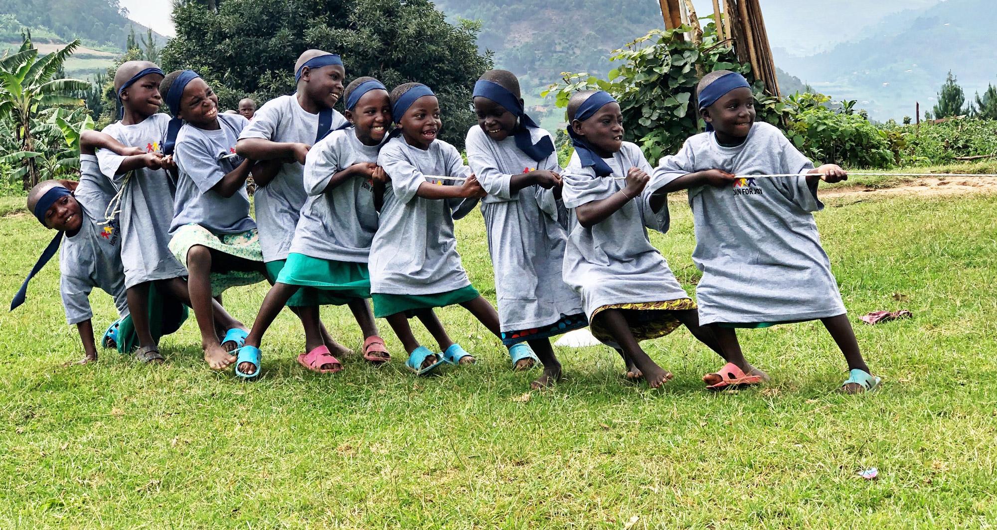 Steun voor Stichting Join For Joy 'Sport en spel voor duurzame ontwikkeling van kansarme kinderen'